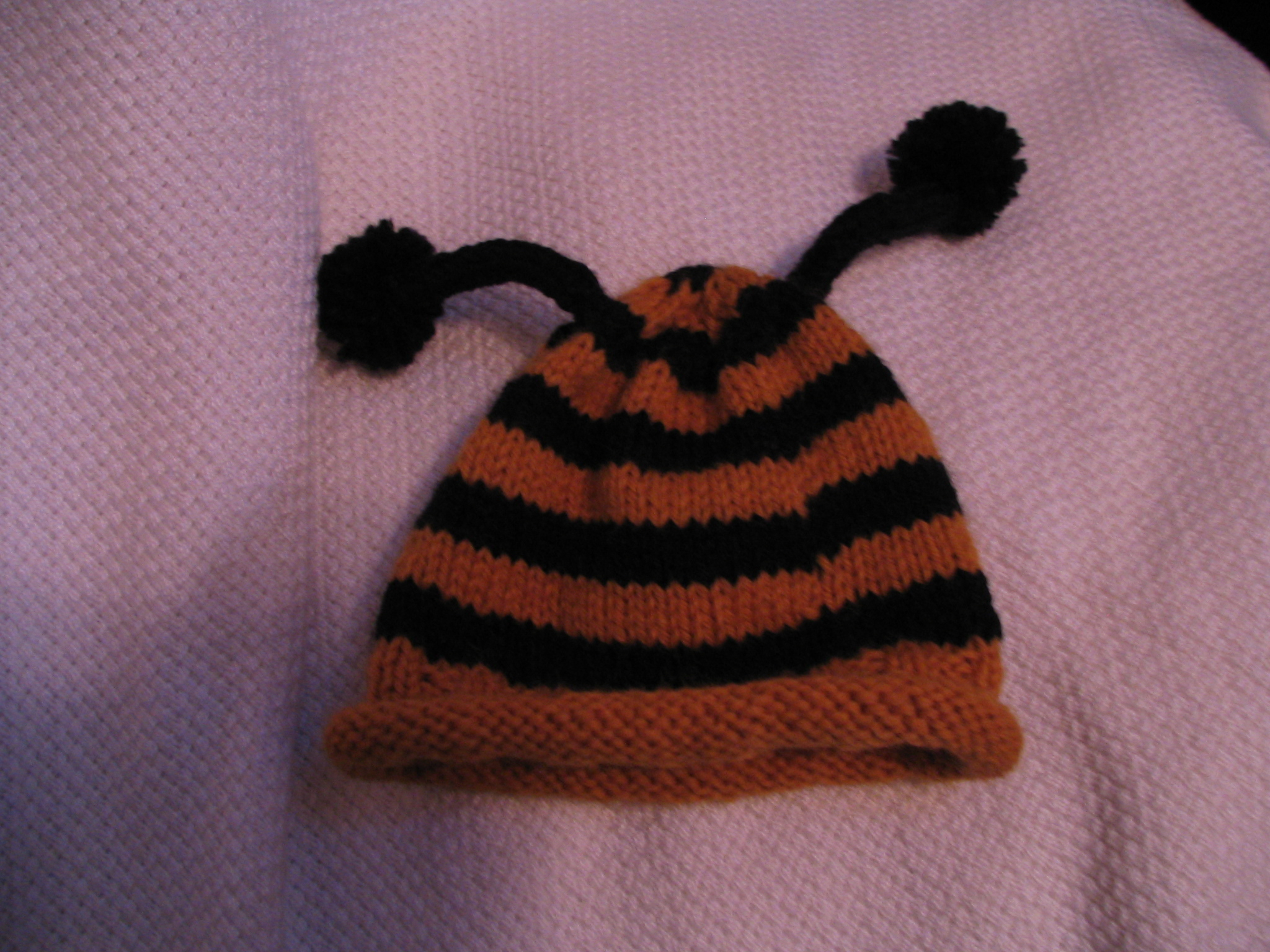 Harlan's bee hat