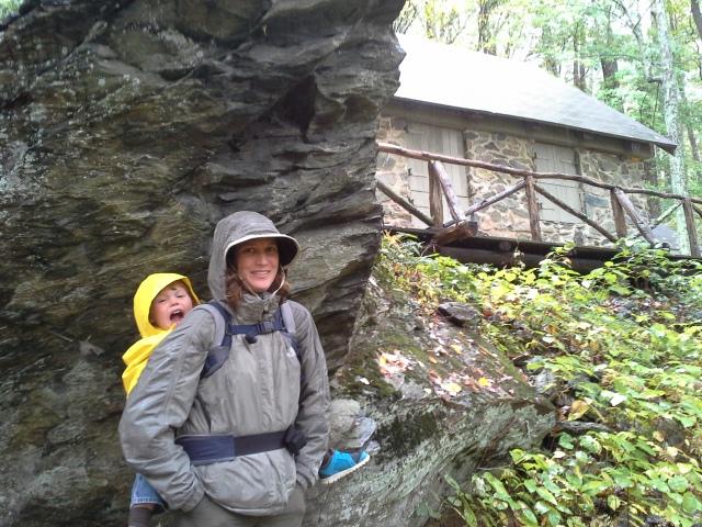 Amanda and Harlan at the cabin