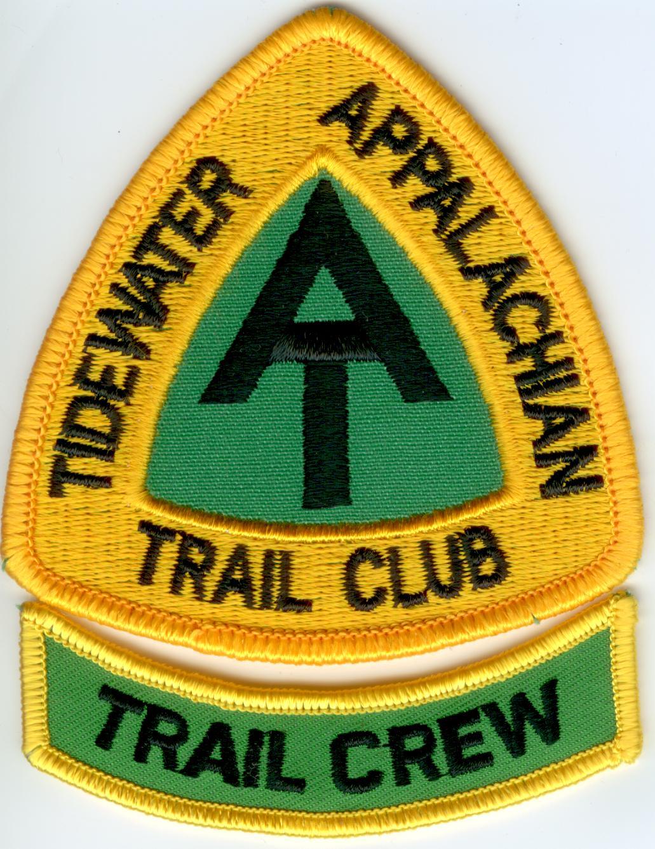 Tidewater Appalachian Trail Club Trail Crew patch