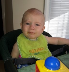 June 25: Really not so sure about starting solid food
