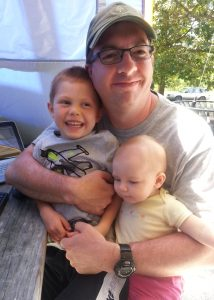 June 26: Hanging at Field Day with Daddy